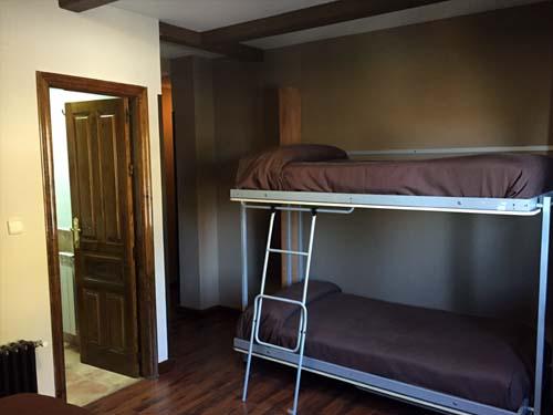 habitaciones cuadruples hotel en sierra nevada 3