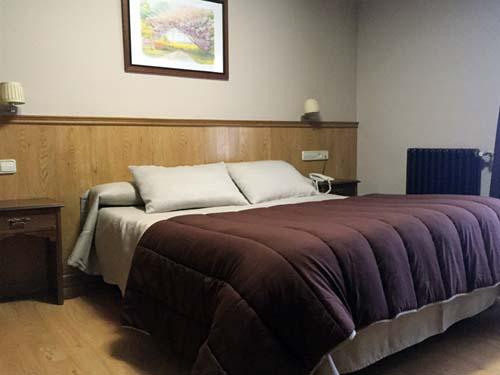habitaciones dobles hotel en sierra nevada 1