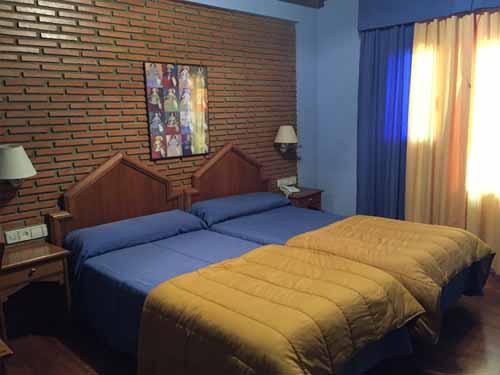 habitaciones dobles hotel en sierra nevada 3