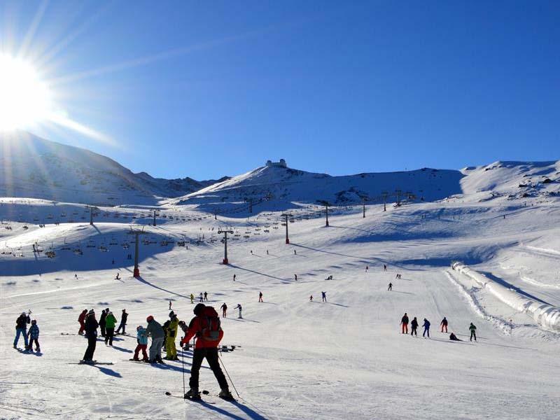 hotel para esquiadores en sierra nevada con fortats