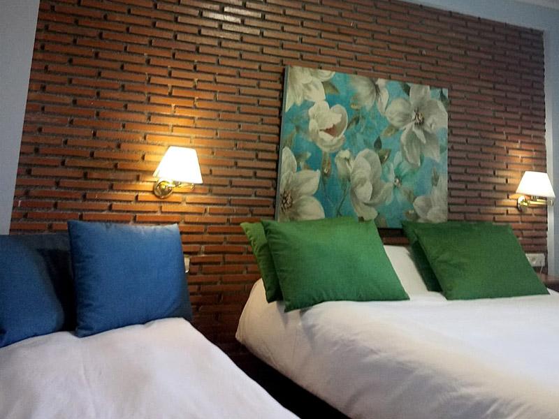 habitaciones dobles hotel en sierra nevada nueva 1