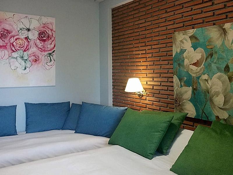 habitaciones dobles hotel en sierra nevada nueva 2